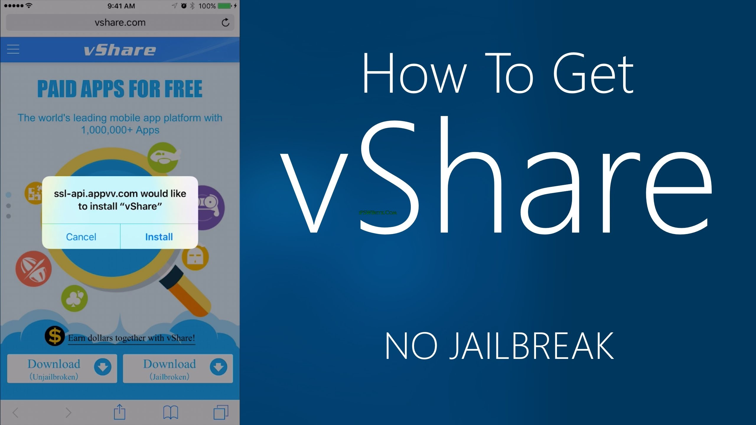 vShare iOS 8.3,iOS 9