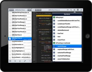 Inside The Textastic Text Editor