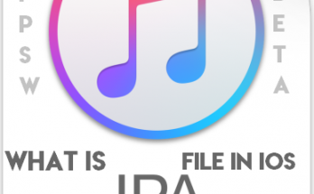 What is iPA file in iOS?