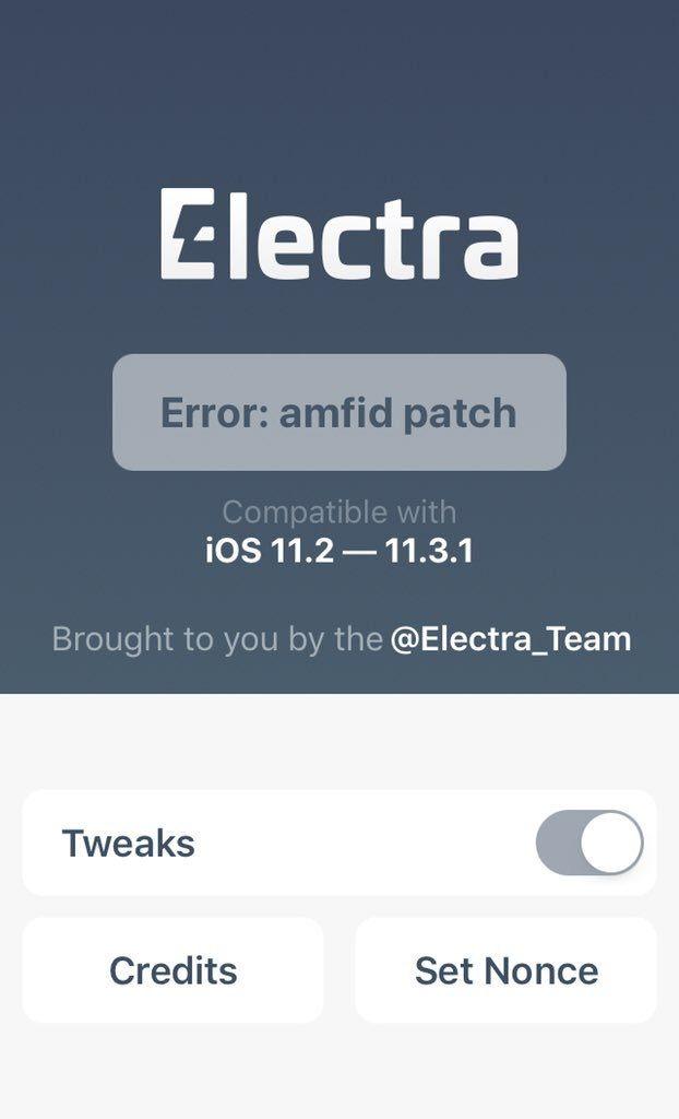 Error: amfid patch fix solution working