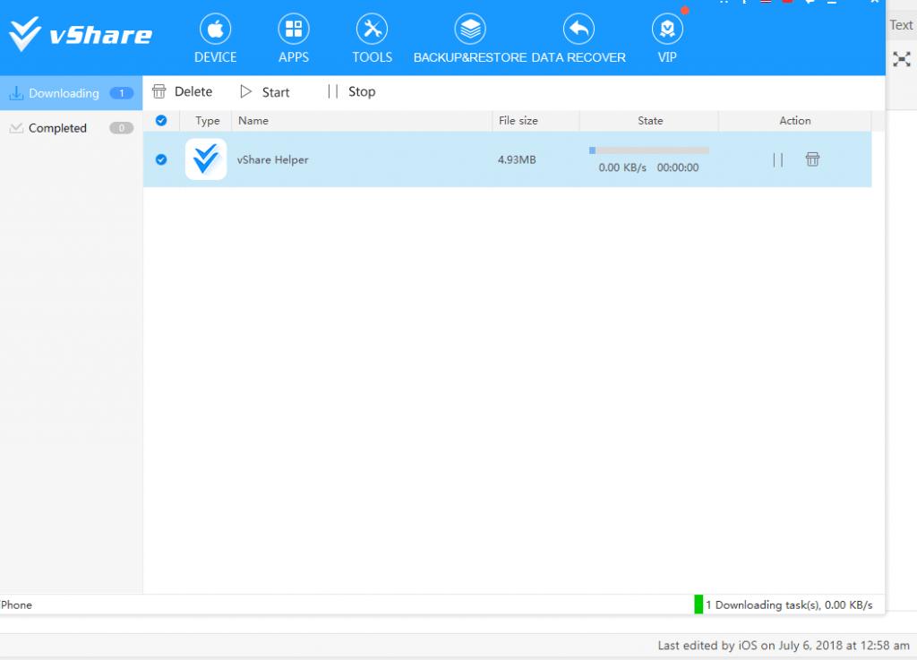 install download vshare