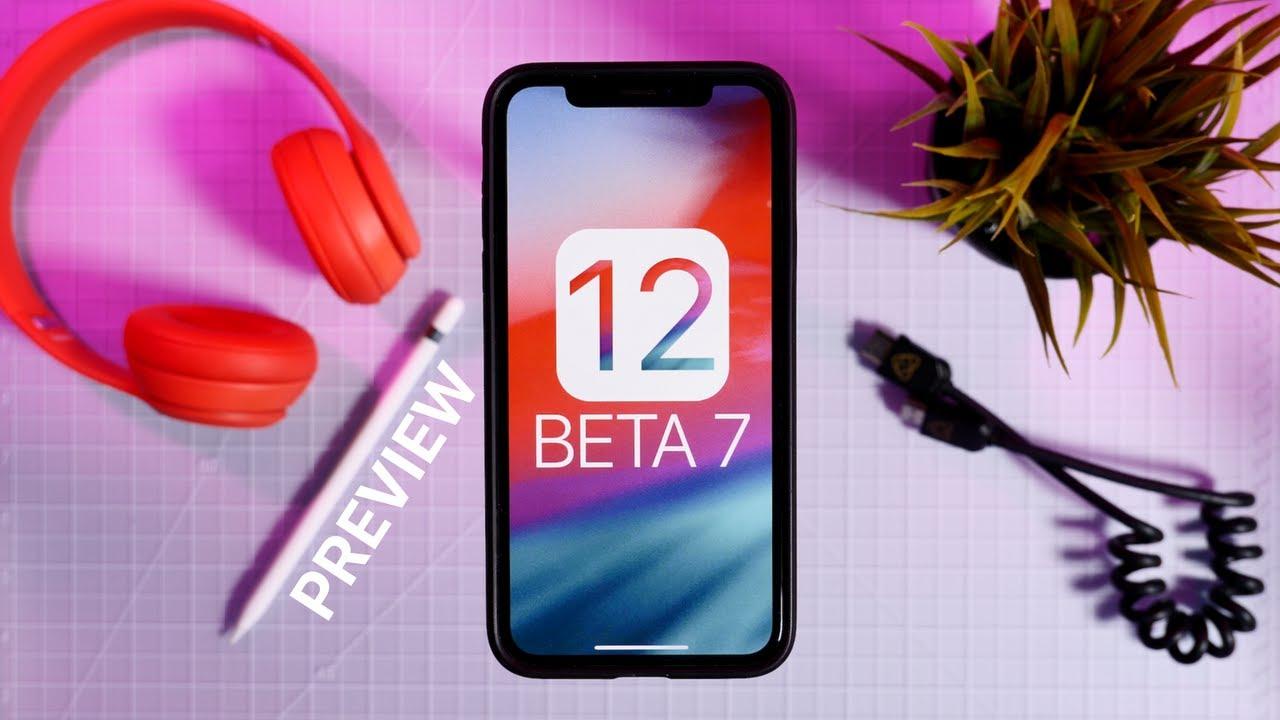 ios 12 beta 7 ipsw