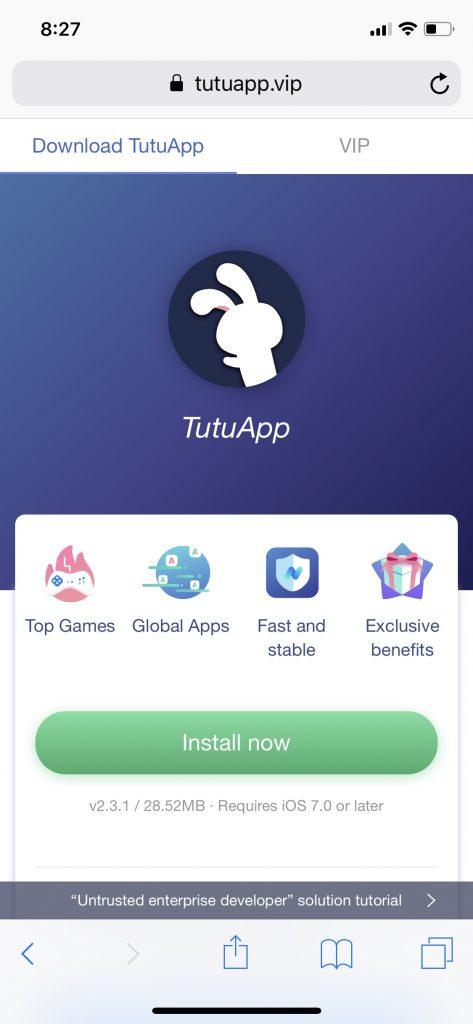 tutu app install