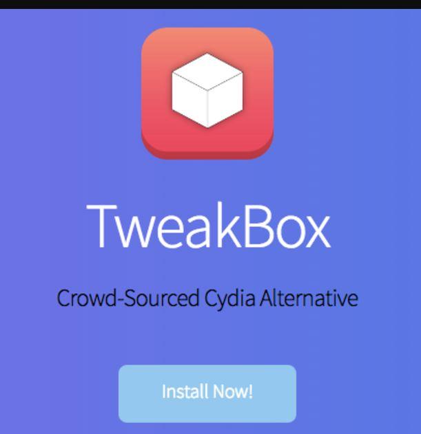 Install TweakBox ios